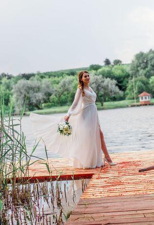 Ніжна весільна сукня 2021 бохо. Свадебное платье