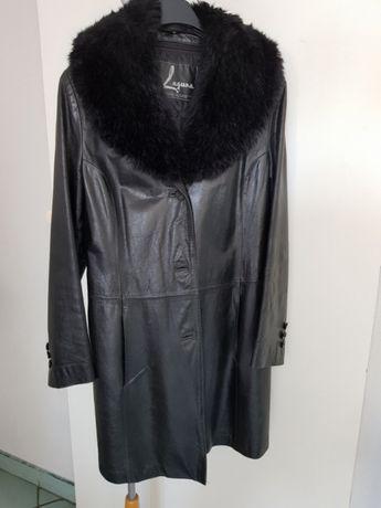 Płaszcz kurtka z naturalnej skóry,Michael Kors,Ochnik
