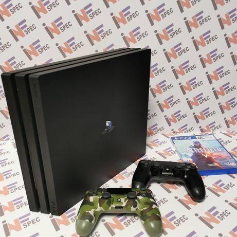 PS4 PRO 1TB, 2xpad, gra+ od SERWISU gwarancja!