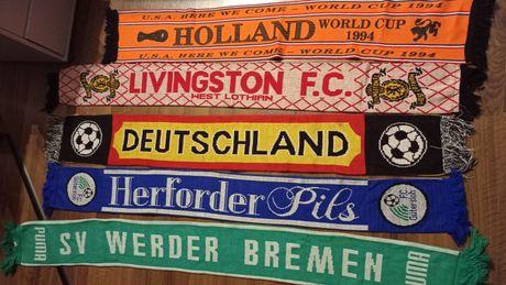 5 x Szalik Holland Deutschland Livingstone Werder Gutersloh