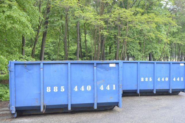 wywóz gruzu gruz odpady poremontowe kontener kontenery