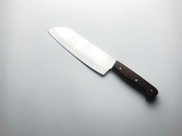 Нож Сантоку ручной работы