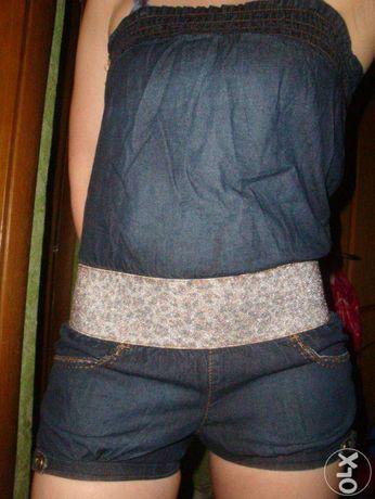 Продаю новий джинсовий комбінезон!