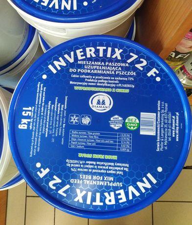 Pokarm dla pszczół Inwertix 72f do podkarmiania zimowego