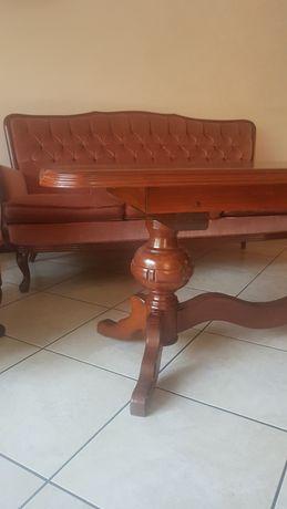 Ława stół stolik kawowy dębowy dąb 120x60