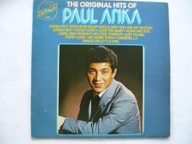 """Paul Anka """"The original hits of """", , płyta winylowa rok 1974"""