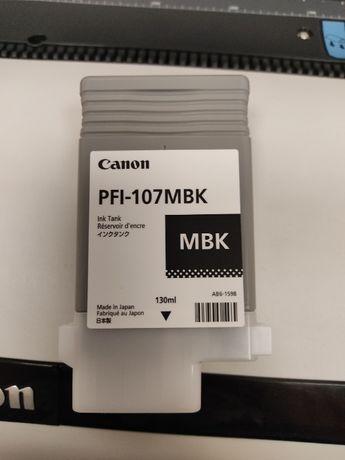 Картридж CANON PFI-107MBK для IPF670/770 MATTE BLACK, 130 МЛ