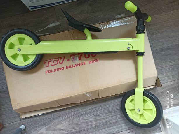 Складной велобег TCV Зеленый (T700)