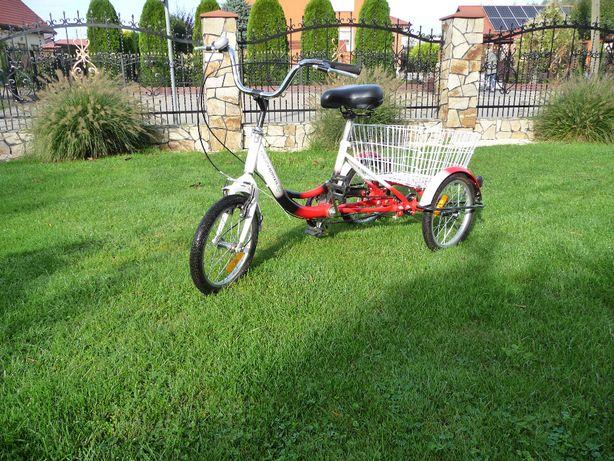 rower trójkołowy rehabilitacyjny - jak nowy