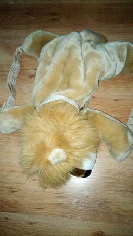 Plecak plecaczek pluszowy zwierzak lew