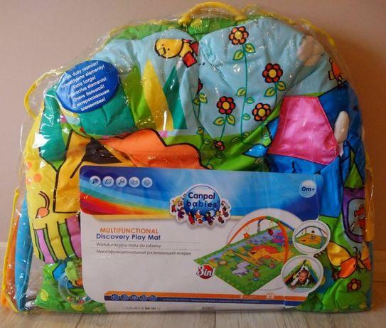 CANPOL Mata do zabawy namiot wielofunkcyjna prezent