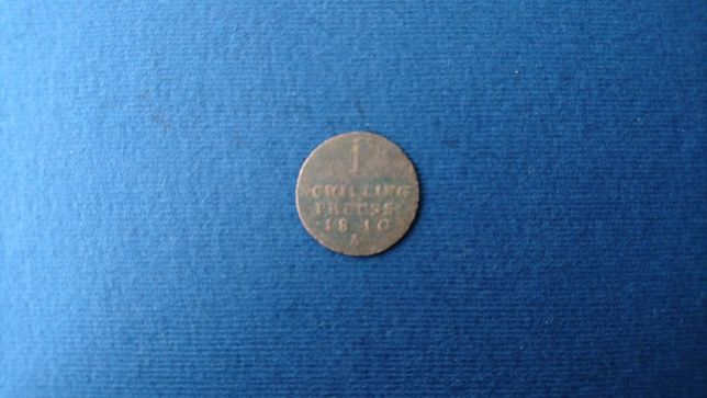 Moneta 1 szeląg z 1810r.