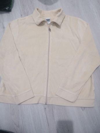 Bluza  bezowa na zamek