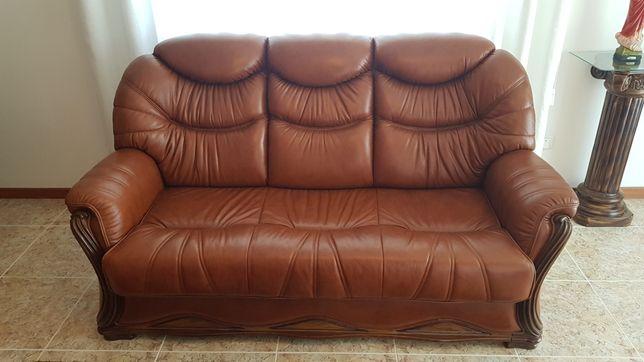 Trio de sofas de sala