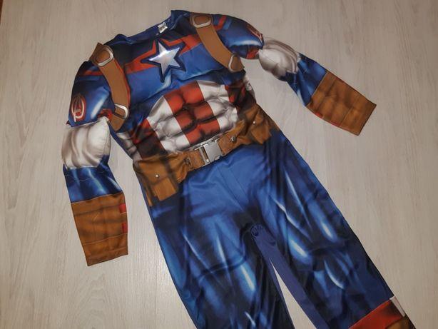 Карнавальный костюм Капитан Америка Marvel на 7 -8 лет