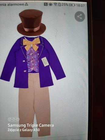 Strój karnawałowy Willy Wonka