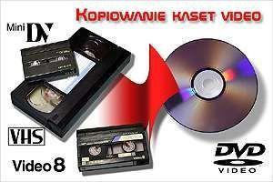 Przegrywanie kaset VHS na DVD (pendrive, cloud)