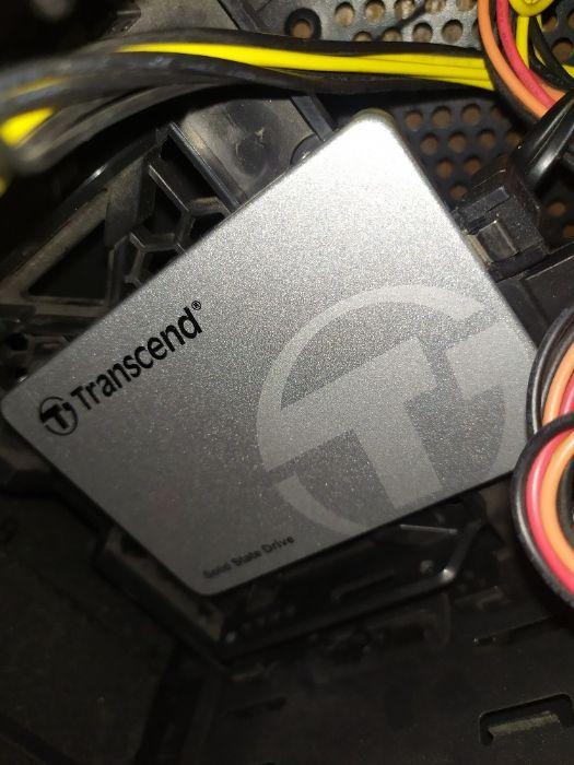 "SSD Transcend SSD370S Premium 256GB 2.5"" SATA III MLC (TS256GSSD370S) Одесса - изображение 1"