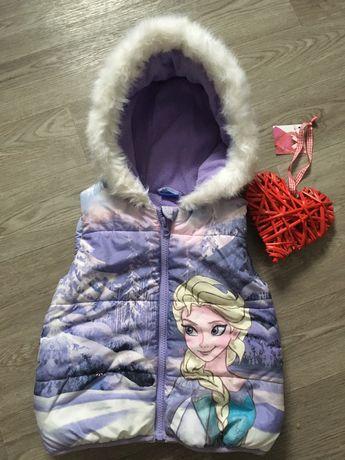 Детская жилетка Эльза ,фирма Disney