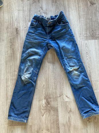 Spodnie dzinsowe dla chlopca 128 8 lat