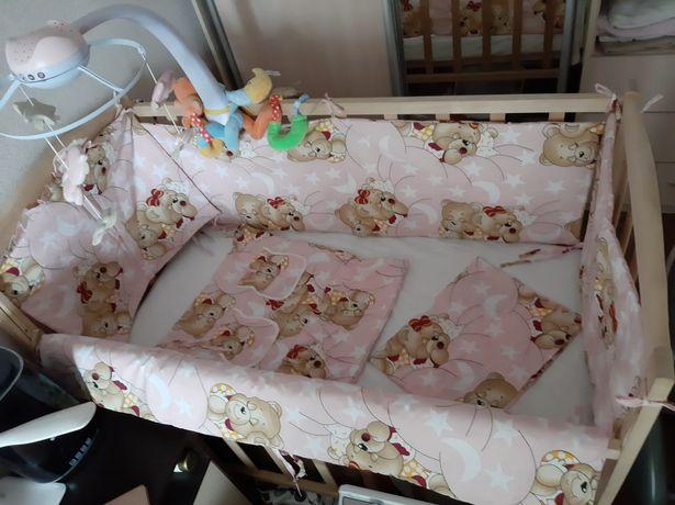 Бортики в детскую кроватку, бампер