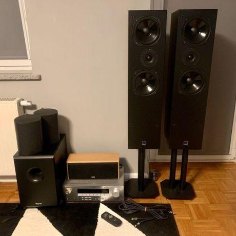 Zestaw audio kina domowego 5.1 Yamaha Dali Jamo Heco B-Tech