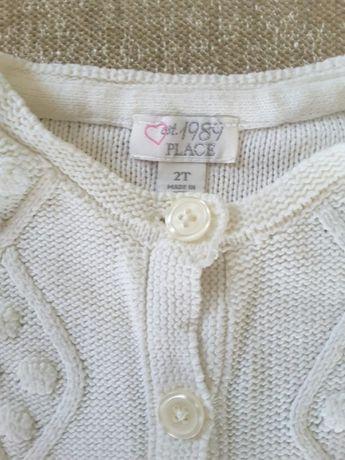 Sweterek biały, 2 lata