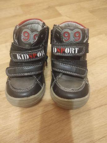 Продам кожаные ботиночки на мальчика