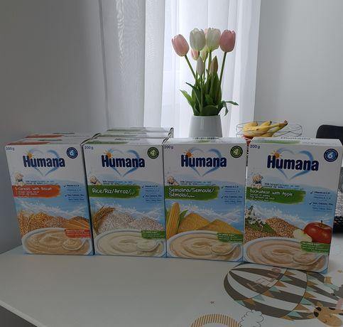 Молочні каші Humana  від 4 місяців