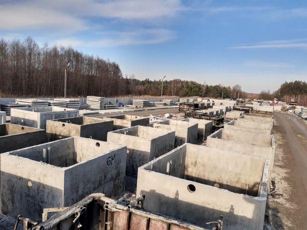 szamba szambo zbiorniki betonowe 10m3 wysoka jakość wodoszczelne