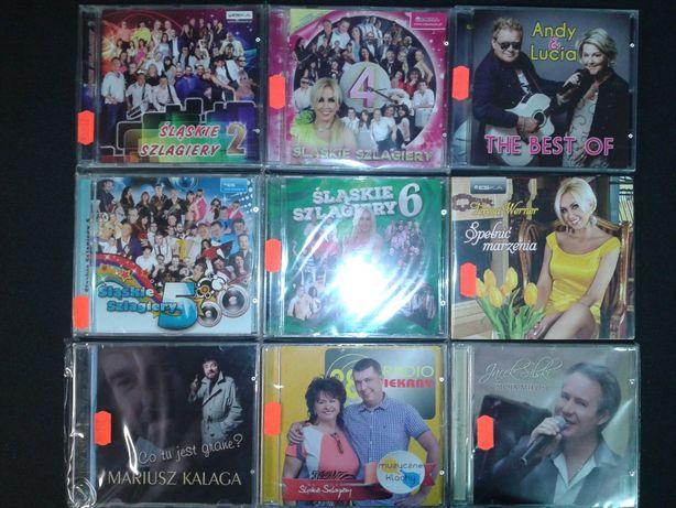 Płyty CD z muzyką śląską T.Werner, Andy&Lucia .