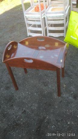 Stolik/taca z podstawą