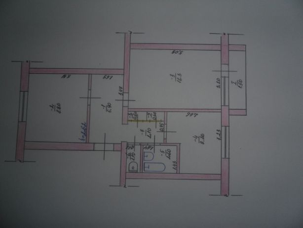 2-х комнатная квартира+гараж+хоз.постройки+ погреб
