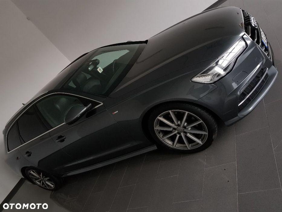 Audi A6 190KM SLine BiXenon Neony Skóry ACC Navi+Dvd Alu Panorama Lift PDC OPS Złotów - image 1