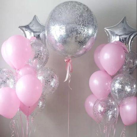 Шары воздушные поштучно Италия 26 см (кульки, шарики, фотозона )
