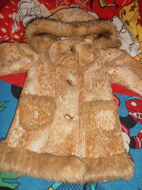 Детская дубленка . курточка на девочку . куртка