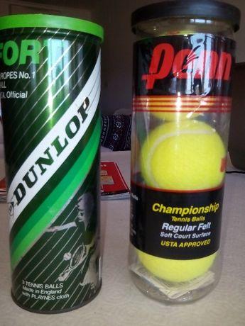 Bolas Ténis Penn e Dunlop NOVAS