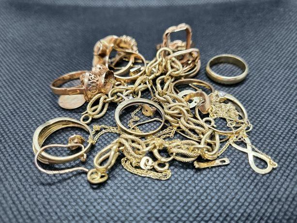 złoto złomowe złom złota złoty 585 14K lombAArd