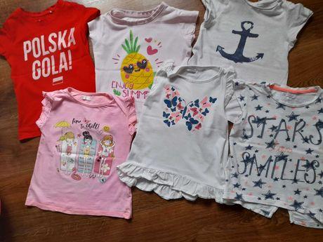Ubrania roz 110 dla dziewczynki