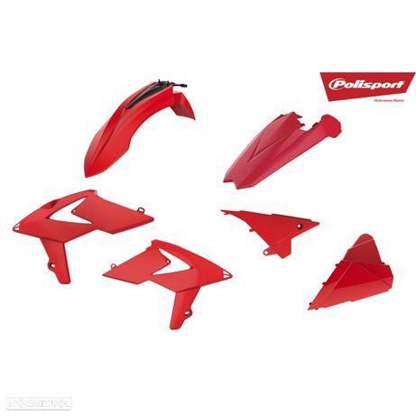 kit plasticos polisport vermelho beta rr enduro