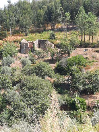 2 terrenos c/casas-Matos Pampillhal-C.Bonjardim-Sertã-Preço negociável