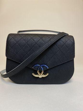 Сумка Chanel Cuba CC caviar leather flap bag оригинал шанель hermes