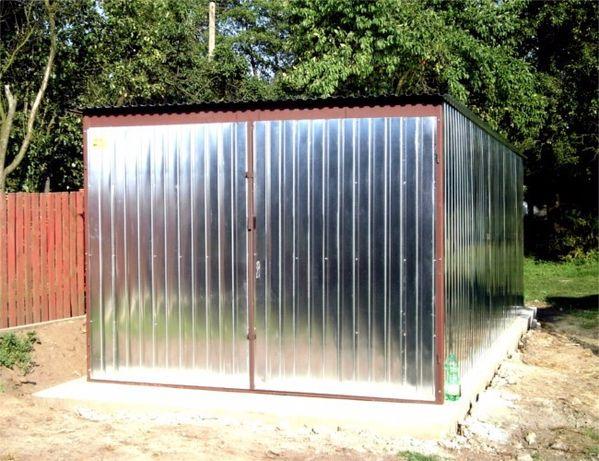Garaż blaszany 3x5 standardowy