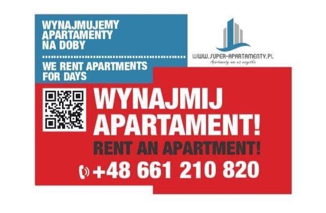 VIP Do wynajęcia apartamenty mieszkania na każdy okres Poznań Centrum