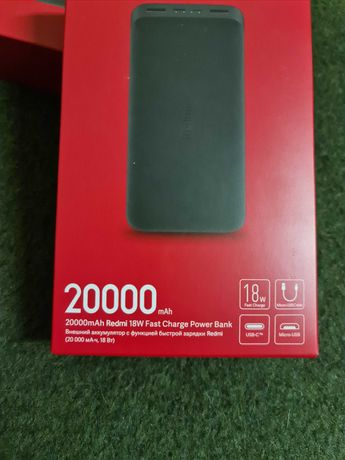 Powerbank fast charge NOVA! 20.000mah