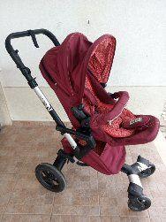 Carrinho Bebê Duo Concord Neo Red