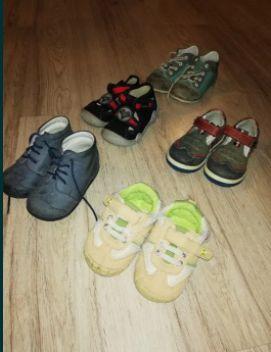 Buty dzieciece 20-24, 5 par