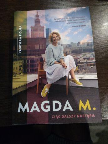 """Książka """"Magda M. Ciąg dalszy nastąpił"""""""