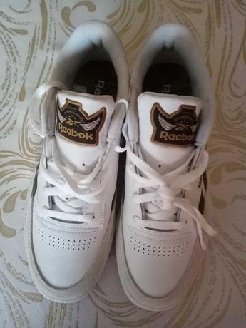 Buty męskie reebok classic białe skórzane