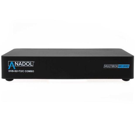 Novidade : Anadol Multibox Combo 4K E2 Linux DVB-S2 + DVB-T2/C